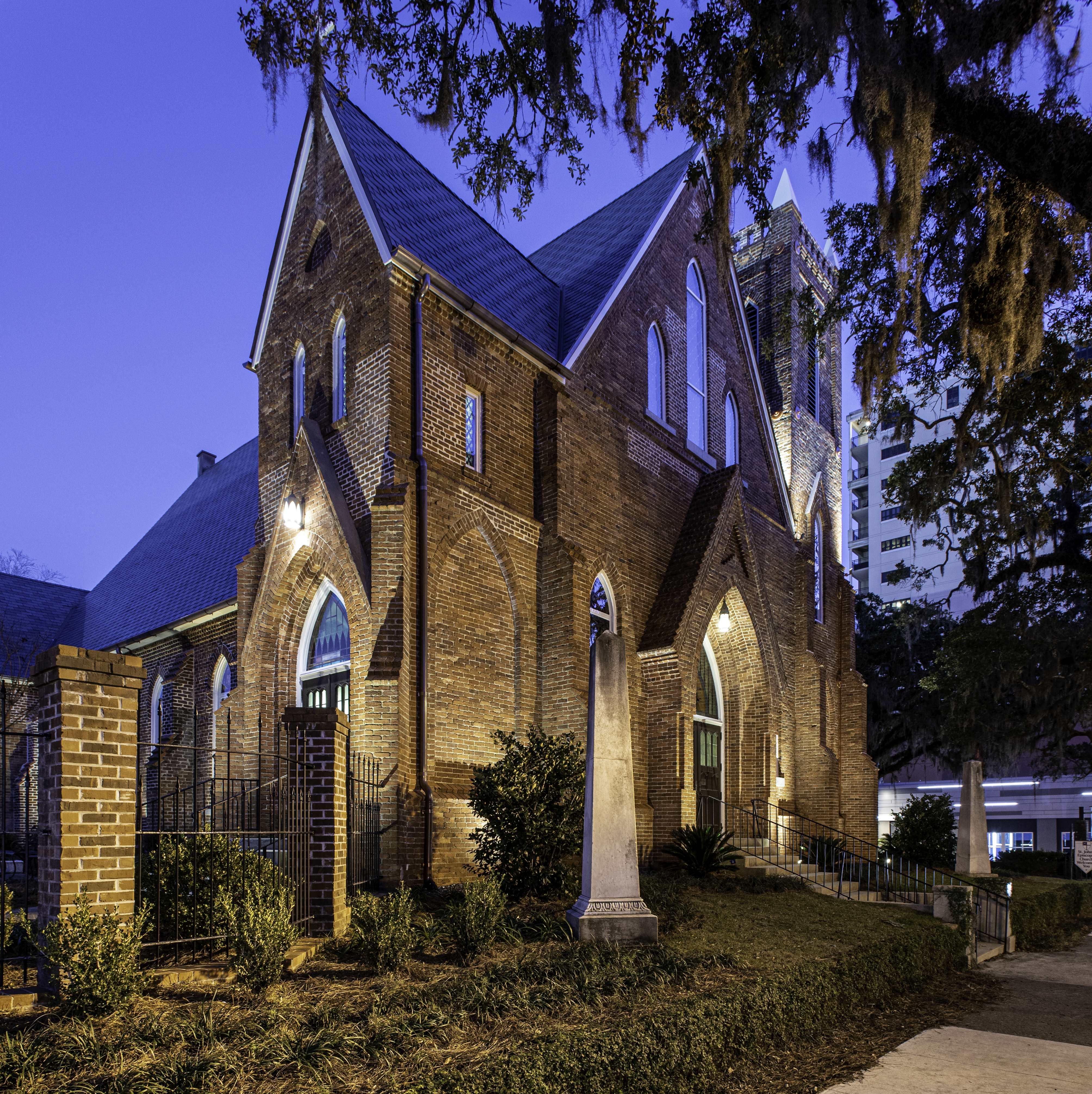 St. Johns After Restoration Northwest Night Shot - Portfolio