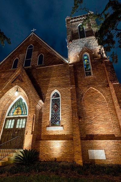 St. Johns After Restoration West Night Shot - Portfolio