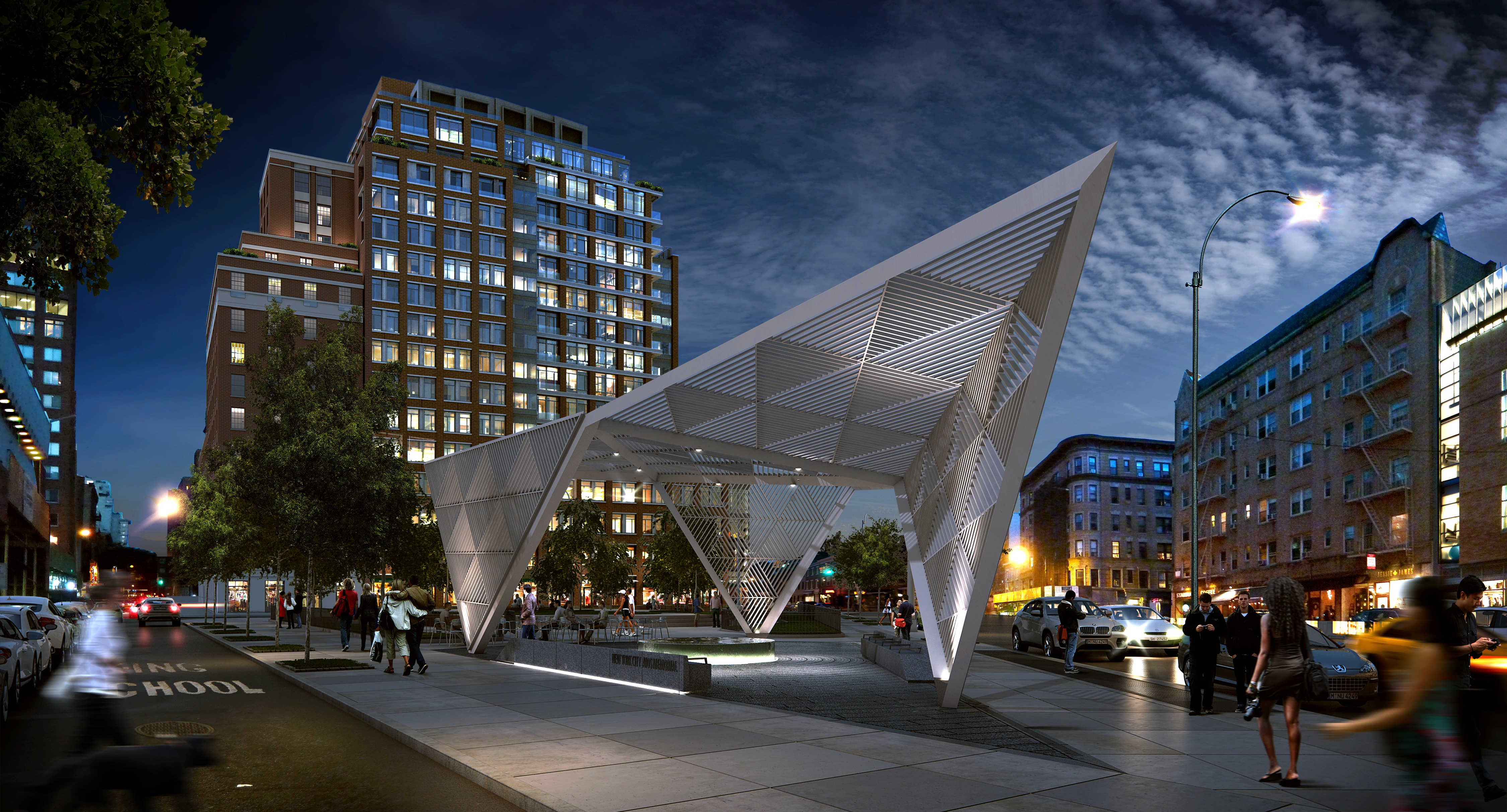 NYC AIDS Memorial Progresses to Completion