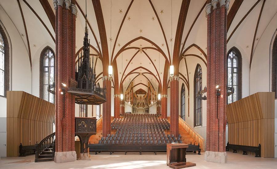 Church Adaptive Reuse Accommodates both Choir and Worship
