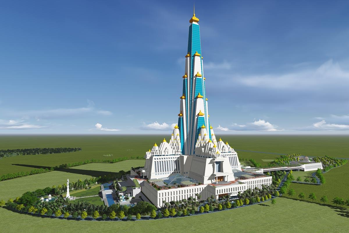 Skyscraper Temple For Krishna Planned