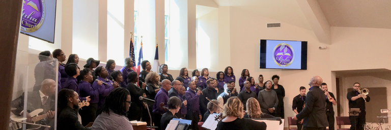 Church RenovatoinDedication Choir Alpha Seventh-day Adventist Church