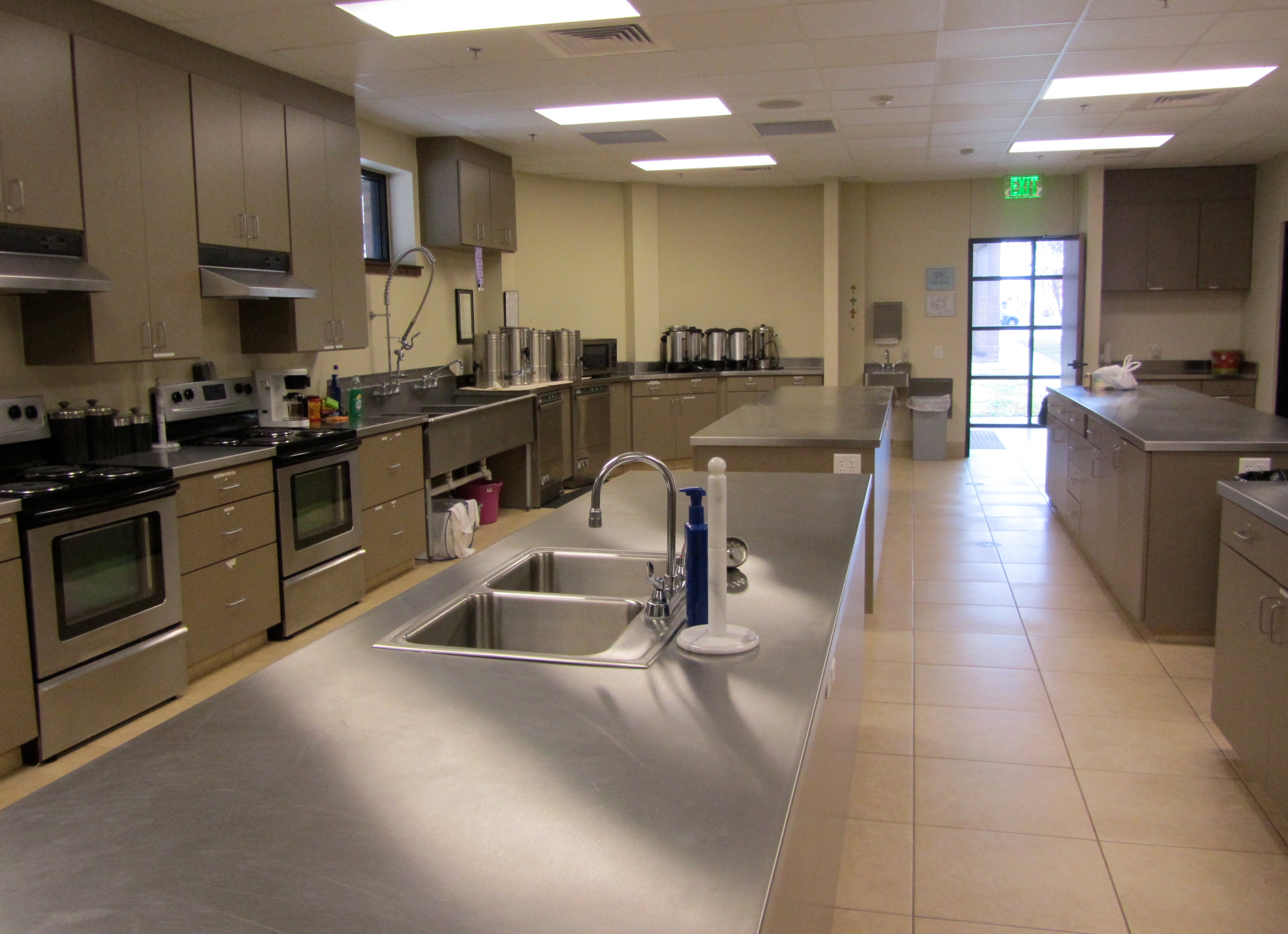 Church kitchens and accessibility 5 issues to consider for Hall kitchen design