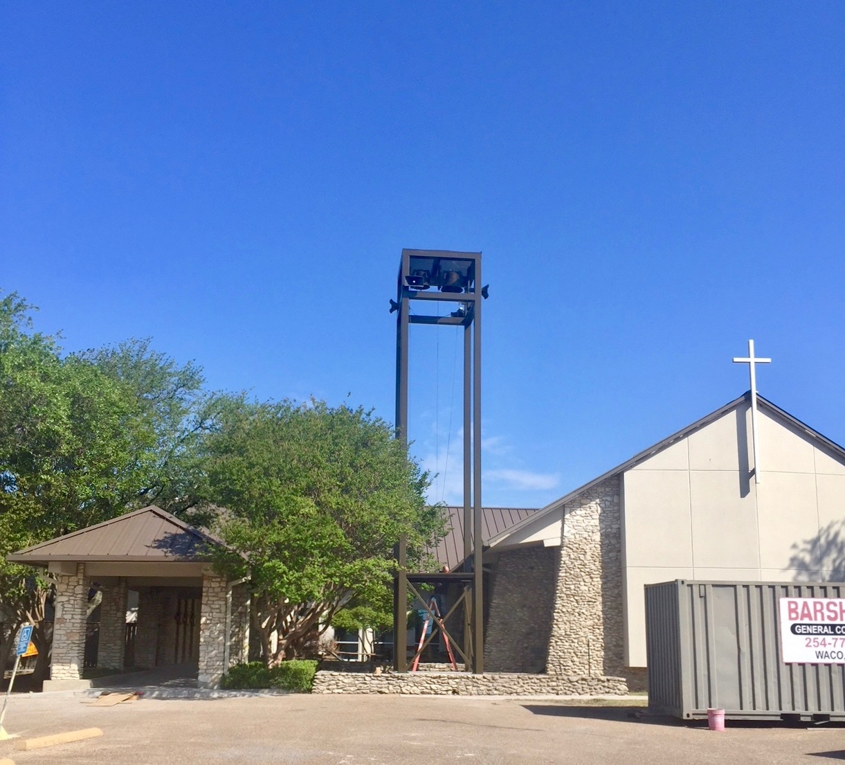 Holy Spirit's Relocated Tower