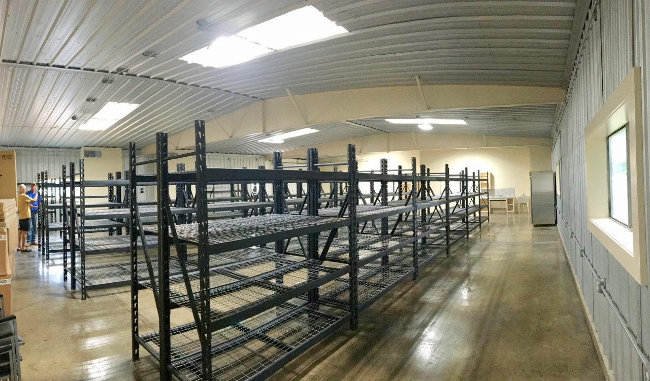 AMEN Food Pantry Nears Completion