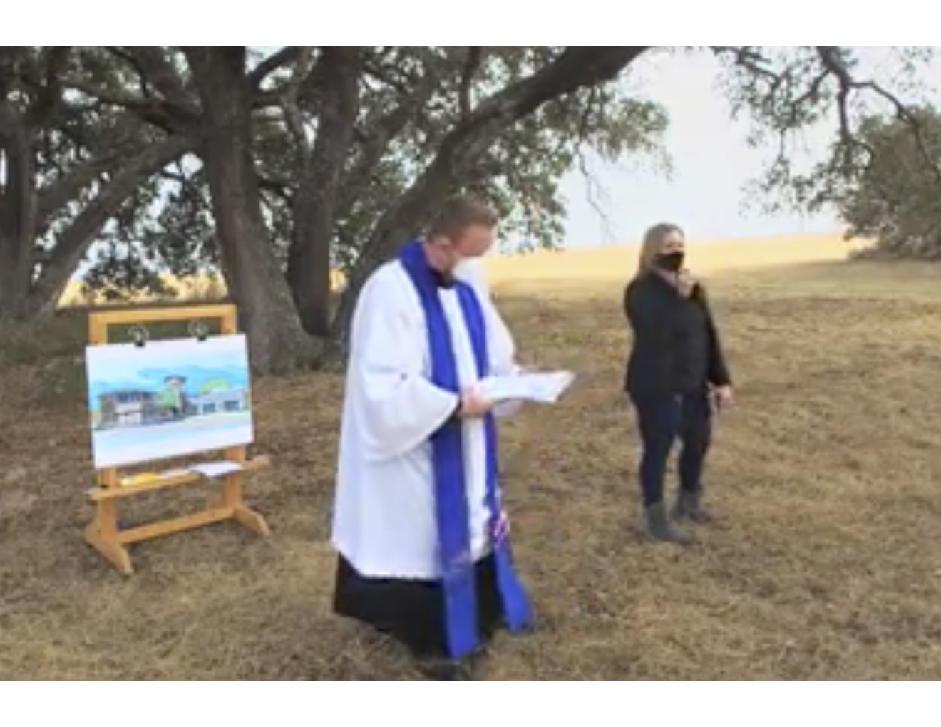 Dedication & Blessing for Future Calvary Episcopal School Campus Site