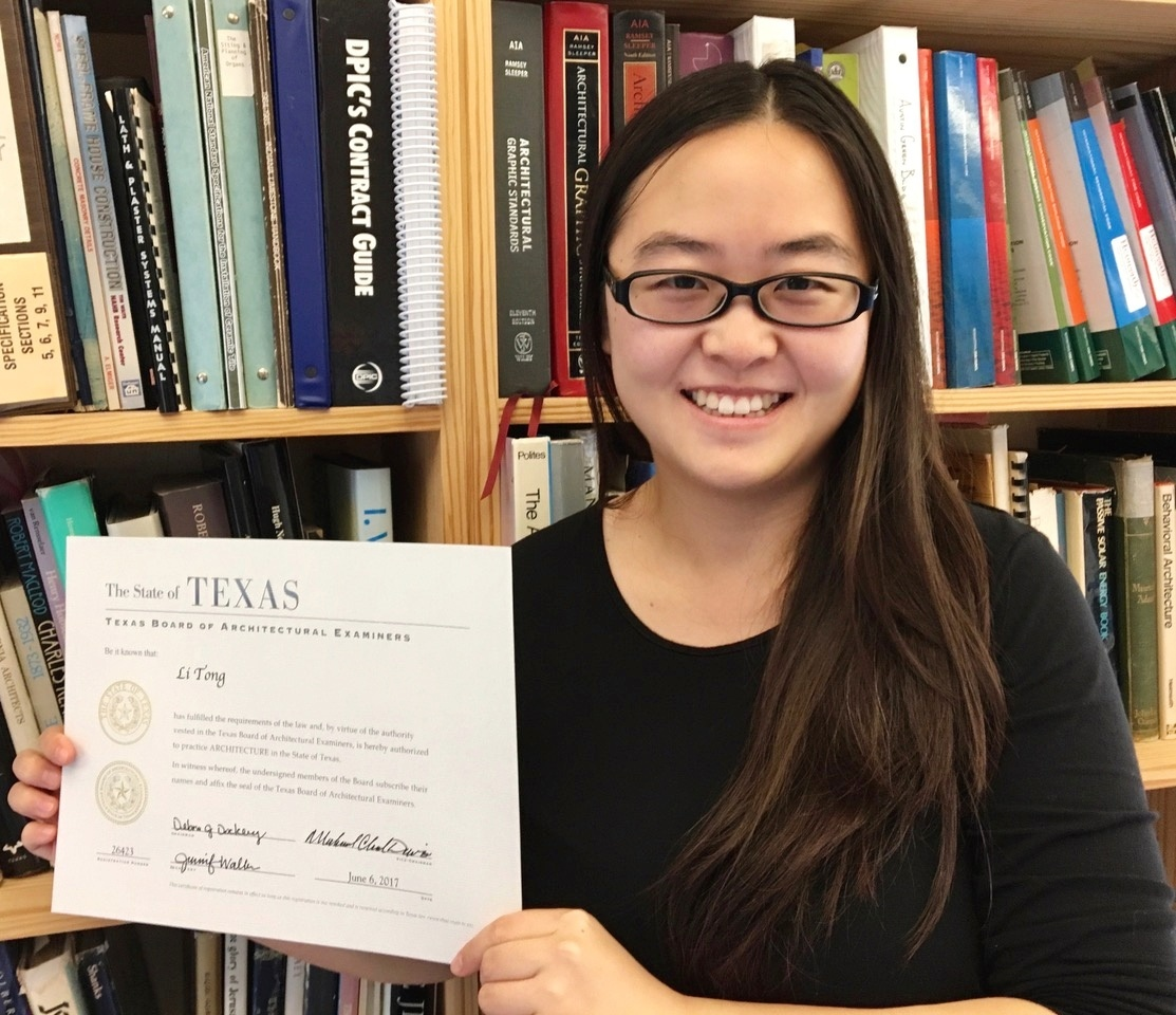 Li Tong Joins New Architects Convocation