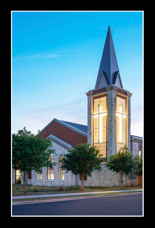 Woodlawn Steeple Featured in Year-End Postcard