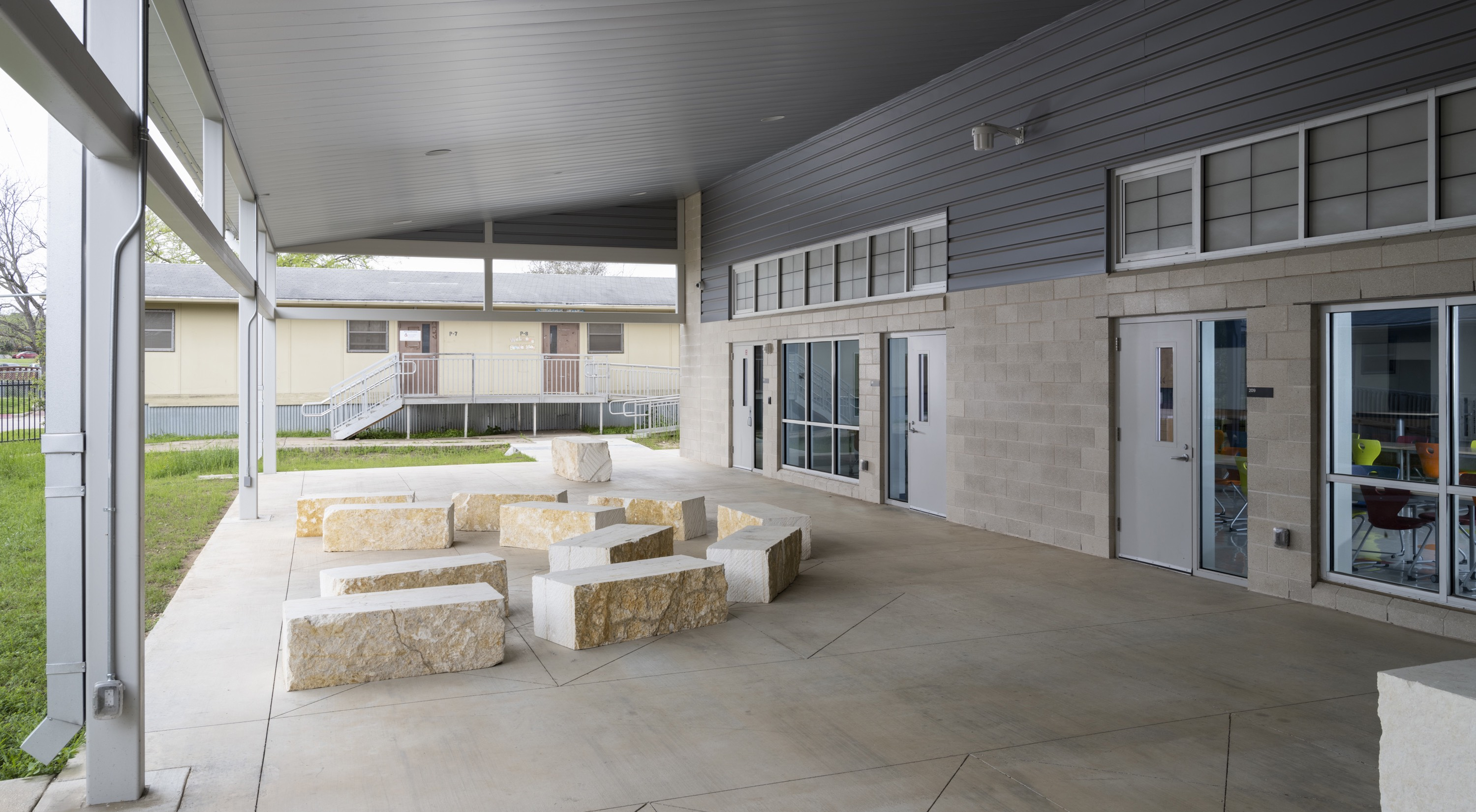 Pickle Elementary Outdoor Patio-2