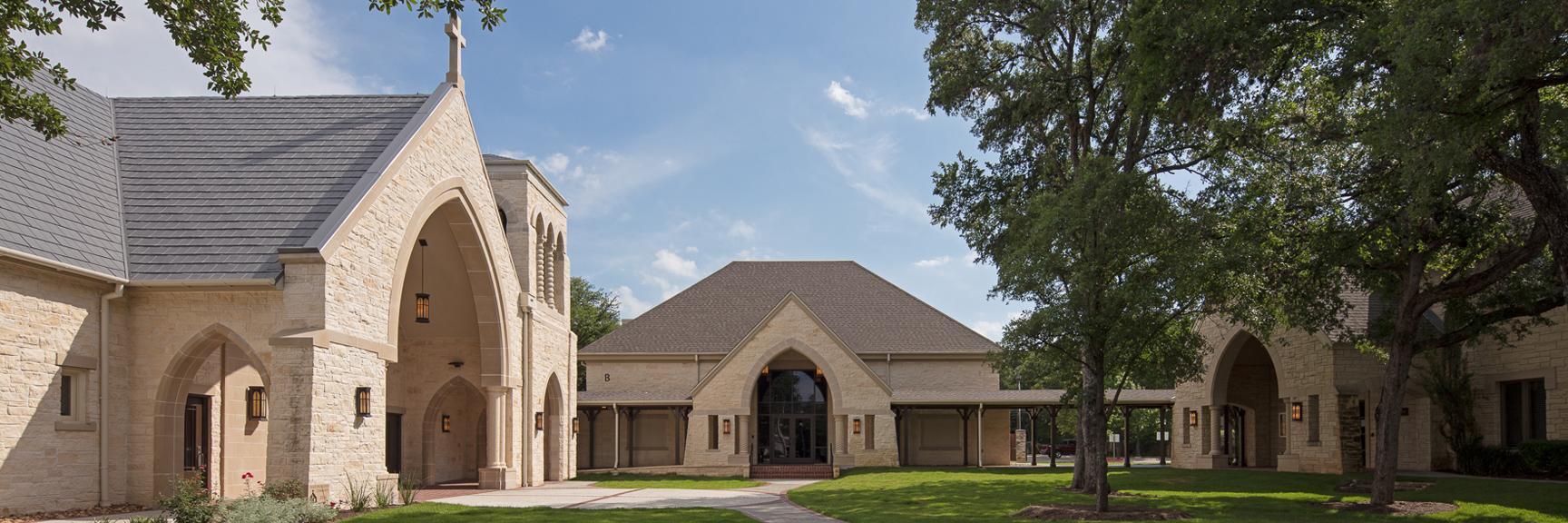Episcopal Church of the Good Shepherd Courtyard