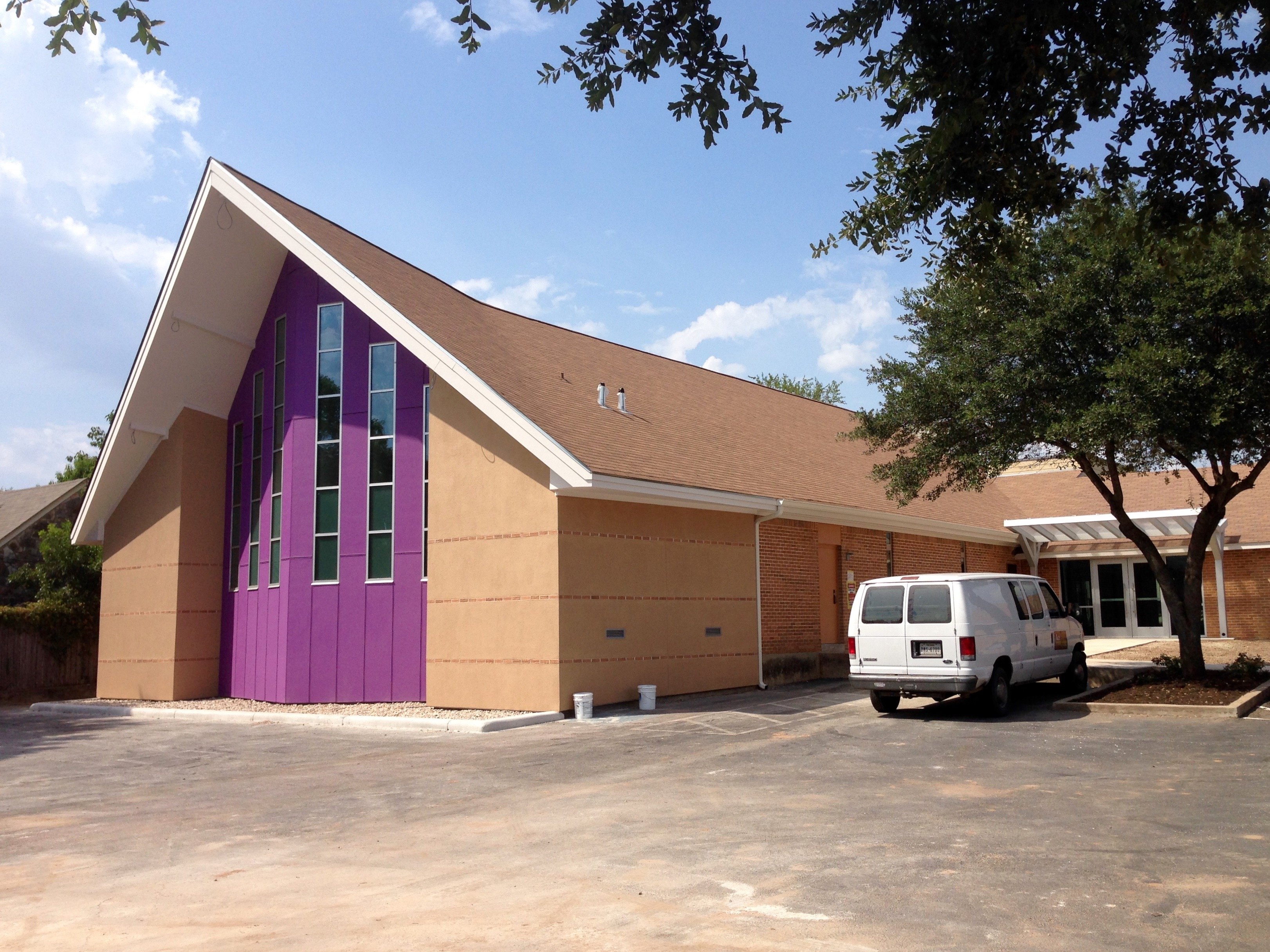 Sanctuary Addition for Alpha 7th-day Adventist Church in Austin, Texas